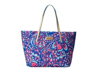 Lilly Pulitzer Resort Tote Brewster Blue Reel Me In Tote Handbags