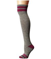 Smartwool Retro Tube Socks Taupe Heather Women's Thigh High Socks Shoes