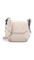 Rag And Bone Bradbury Small Flap Hobo Bone