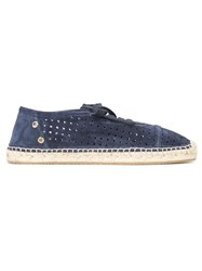 Jimmy Choo Dare Flat Espadrilles Blue