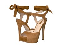 Guess Kassie New Light Saddle Women's Sandals Tan