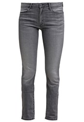 Wrangler Evalyn Slim Fit Jeans Great Grey Grey Denim