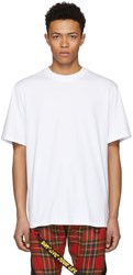D By D White I Dont Live Your Life Tape Loop T Shirt