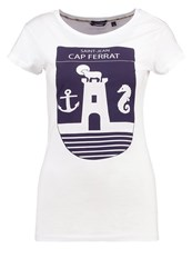 Gaastra Ferry Print Tshirt Off White