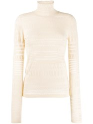 Dorothee Schumacher Long Sleeve Cut Out Knit Pullover 60