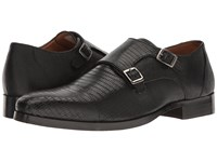 Steve Madden Rocodile Black Men's Slip On Shoes