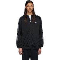 Reebok Classics Black Cl F Vector Tape Jacket