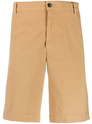 Kenzo Embroidered Logo Chino Shorts Neutrals