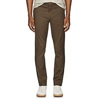 Atm Anthony Thomas Melillo Cotton Slim Trousers Md. Green