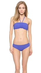 Marc By Marc Jacobs Ava Bandeau Bikini Top Bohemian Blue