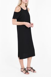 Alexander Wang T By Women S Eyelet Strap Dress Boutique1 Black