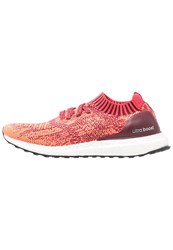 Adidas Performance Ultraboost Uncaged Neutral Running Shoes Collegiate Burgundy Core Pink Glow Orange Red