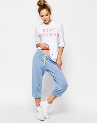 Sundry Light Terry Capri Sweatpant Fiji