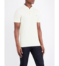 The Kooples Classic Fit Cotton Polo Shirt Yel28