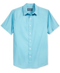 American Rag Men's Rodriguez Shirt Only At Macy's Blue Mist