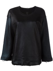 Rta Crew Neck Jumper Black