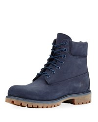 Timberland 6 Premium Waterproof Hiking Boot Navy