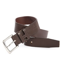 Hackett Brown Leather Belt