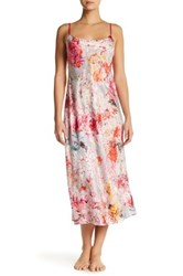 Natori Autumn Print Nightgown Multi