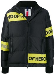 Rossignol Hooded Padded Jacket Black