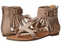 G By Guess Hazed Light Natural Fabric Women's Sandals Neutral