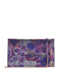 Lodis Vanessa Variety Betsy Convertible Leather Clutch Multi Colored