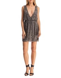 Walter Baker Mason Mini Dress Dark Grey