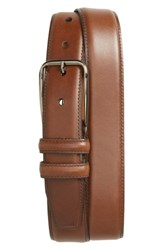 Nordstrom Men's Men's Shop Parker Leather Belt Brown Chestnut