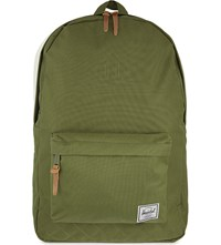 Herschel Quilted Heritage Backpack Army
