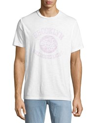 Ovadia And Sons Shedding Light Graphic T Shirt White