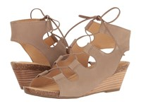 Me Too Adam Tucker Tami 8 Rosewood Nubuck Women's Sandals Beige