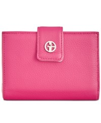Giani Bernini Softy Framed Colorblock Wallet Created For Macy's Granita Blush