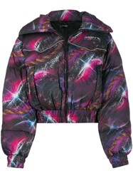 Misbhv Galaxy Print Down Jacket 60