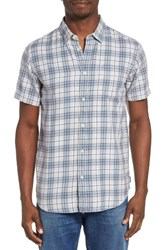 Rvca Men's Sid Short Sleeve Woven Shirt