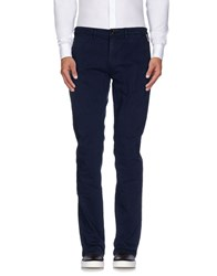 Frankie Morello Trousers Casual Trousers Men Dark Blue