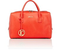 Just Cavalli Women's Boxy Satchel Red