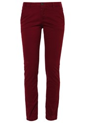 Superdry International Sweet Chinos Berry Bordeaux