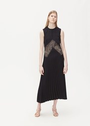Beaufille 'S Delaunay Dress In Black Size 2 Cationic Polyester Nylon