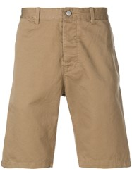 Edwin Classic Chino Shorts Nude And Neutrals