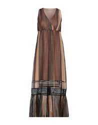 Pennyblack Long Dresses Dark Brown