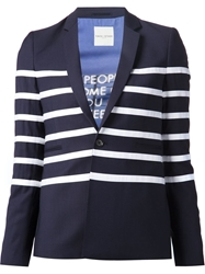 Each X Other Contrast Stripe Blazer