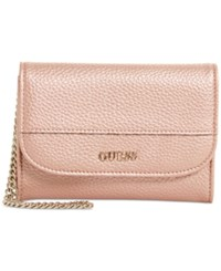 Guess Katiana Double Date Boxed Wallet A Macy's Exclusive Style Rose Gold