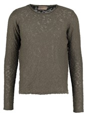 Revolution Jumper Army Grey