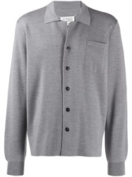 Maison Martin Margiela Button Down Pocket Cardigan Grey