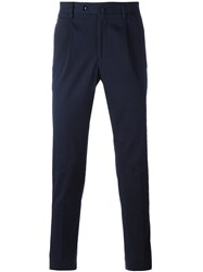 Incotex Tailored Trousers Blue