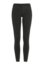 Missoni Leggings With Metallic Thread Black