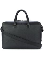 Salvatore Ferragamo Classic Briefcase Grey