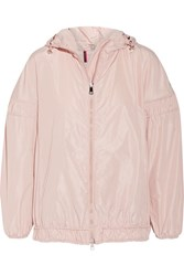 Moncler Jarosse Hooded Shell Jacket Pastel Pink