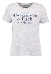 Abercrombie And Fitch Little Boy Print Tshirt Grey Light Grey