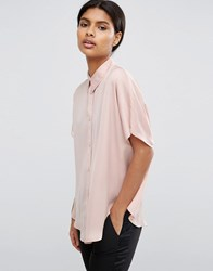 Asos Soft Cocoon Shirt Oyster Beige